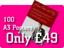 A3 posters offer